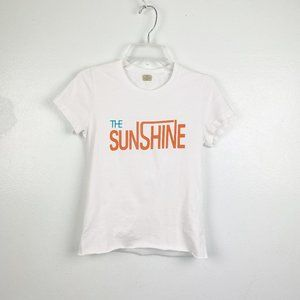 AG Adriano Goldschmied | Graphic Tee Crop Sunshine
